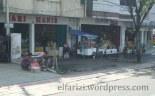 Toko-toko manisan berjajar di sepanjang jalan utama Cianjur Kota (Jalan Dr. Muwardi)