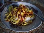 Nasi ponggol ini kayak kamu, sederhana tapi menyenangkan :mrgreen: